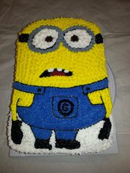 Minion Frowning