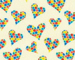 HIP HOP HEARTS - COTTON - 53