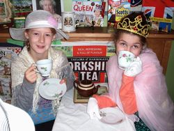 Tea with the Queen in England!