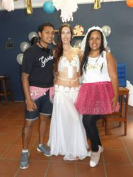Tanaya, bride to be and groom to be