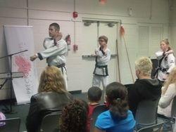 Paks Karate Demo