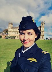 ATA uniform worn by Helen Murdoch