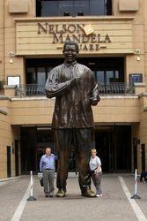 At Nelson Mandela Square