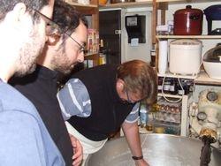 atelier 'pain' avec l'équipe Val Giros