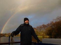 Somewhere under the rainbow!