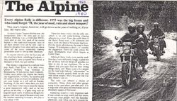 1980 Alpine Rally