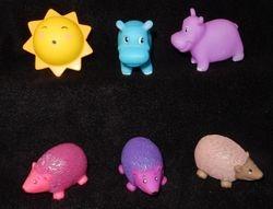 Sun, Hippos, Hedgies