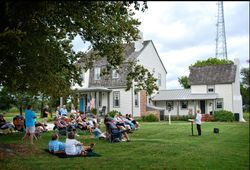 Selma Lecture on the Lawn