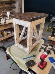 Farm house end table