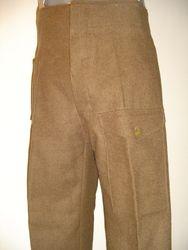 40 pattern trousers £115 brown serge