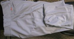Albert Pujols 2008 Game Used Road Pants