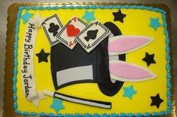 magic hat cake $3.50/serving