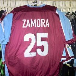 Bobby Zamora worn 2005 play off semi final shirt.