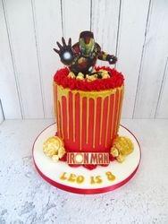 Ironman Drip Cake