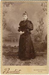 Emma Krumfusz or Miss Ottes of Barrington, IL