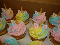 unicorn cupcake $4 each