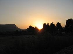 Atardecer en Galilea