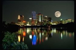 Austin, Texas Sky Line @ Night