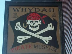 Whydah Museum Sign