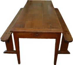 French Farm Table & Work Benches- $11,500 - $12,500