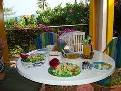 Lunch al fresco!