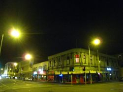 Tuam and High Street at Night 2010