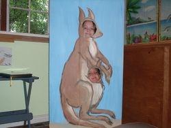 Mother Kanga and her Joey - Australia