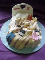 Messy Bed Cake