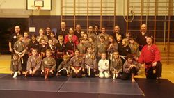 Valentines Seminar - Hosted by Cameron's School of Martial Arts - Ullapool 2013