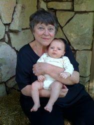 Caleb Harlan and Grandma Sandy