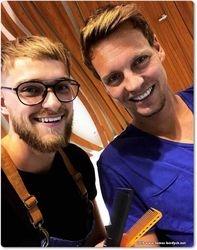 Daniel Pasek and Tomas Berdych