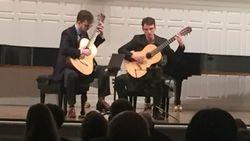 Dani & Nathan perform at Sprague Hall, New Haven, 2019.