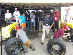 Tire changing competition