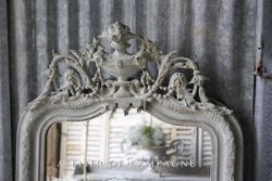 SOLD #24/237 French Mirror Beziers detail SOLD