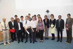 Delegates and faculty