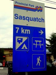Le parc provincial Sasquatch