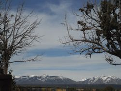 Snow Covered La Plata Mountains