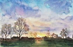 Winter horizon II, Capel