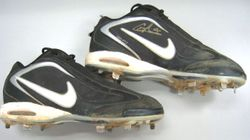 Colby Rasmus Game Used and Signed Shoes On 2007 USA Team