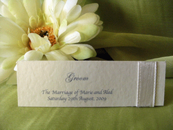 Ivory Placecard