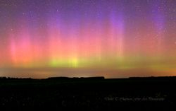 Pastel Auroras Over Southern Ontario