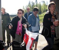 Mette Berntsen, Margrethe Lakshol, Carol Nersund og Jorgen Hjartland .