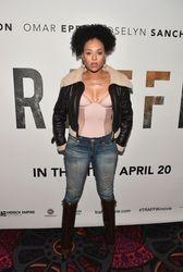 "Demetria McKinney attends ""Traffik"" Atlanta VIP Screening at Regal Atlantic Station"