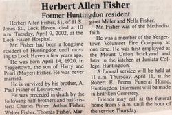 Fisher, Herbert Allen 2002