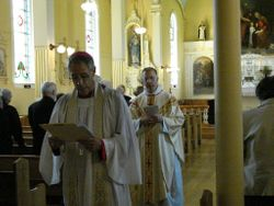 Post Communion Procession