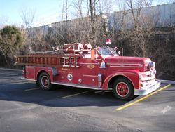 Ron Hermans 1957 Seagrave