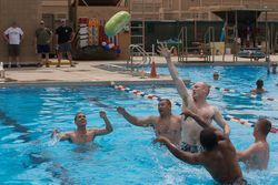 July 4th Pool party, Camp Arifjan, Kuwait