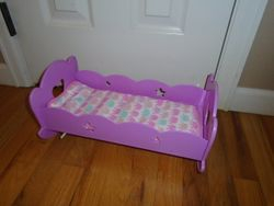 You & Me Doll Rocking Cradle With Music - $9