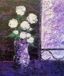 Le bouquet au vase violet