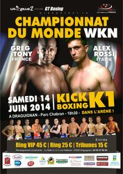 hampionnat du Monde de K1 - 14 juin 2014